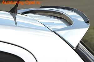 Спойлер на крышу Opel Astra H в стиле GS/R
