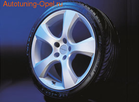 Шины летние Kumho KU 31 225 / 35 R20 90Y с литыми дисками Irmsher в стиле Evo-Star Design 8 x 20 ET 40 для Opel Astra J