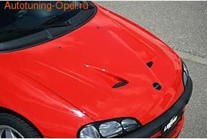 Капот Opel Tigra в стиле F50