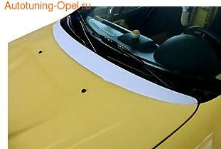 Накладка на капот Opel Tigra