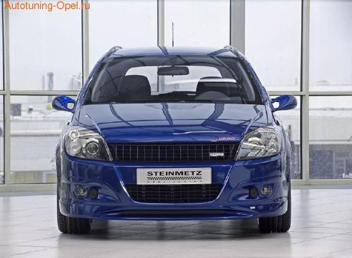 Воздухозаборники Opel Astra H