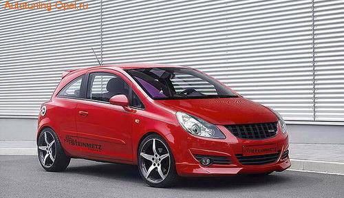 Обвес на Opel Corsa D 3-х дверная (дорестайлинг) от компании Steinmetz