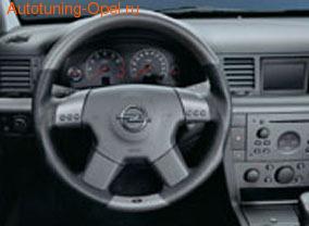 Руль для Opel Vectra C в стиле Granit-Look с кожаными вставками