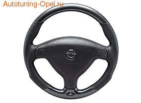 Руль для Opel Astra G, Opel Zafira A в стиле Carbon-Look с кожаными вставками