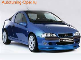 Обвес на Opel Tigra от компании Irmscher