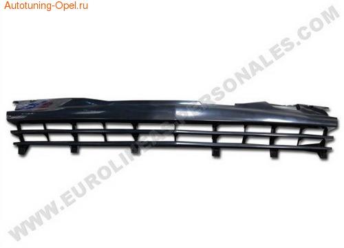 Решетка радиатора Opel Astra H черная