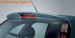 Спойлер на крышу Opel Meriva A в стиле OPC Line