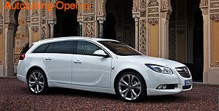 Обвес на Opel Insignia Sports Tourer (дорестайлинг) от компании Opel в стиле OPC Line I