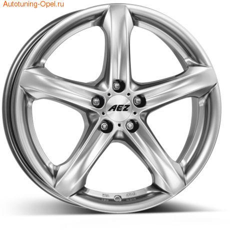 Диски литые R17 легкосплавные AEZ Yacht для Opel Astra J c бензиновыми двигателями 1,4 л и 1,6 л, дизельными двигателями 1,3 л