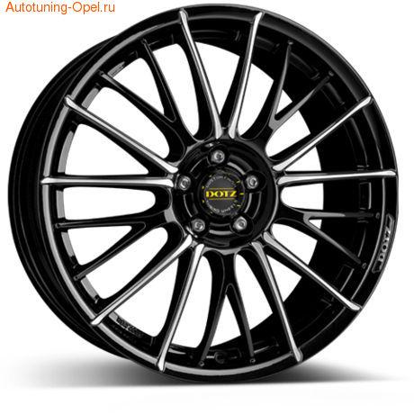 Диски литые R17 легкосплавные DOTZ Rapier для Opel Astra J c бензиновыми двигателями 1,4 л и 1,6 л, дизельными двигателями 1,3 л