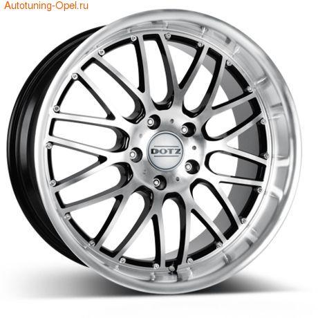 Диски литые R16 легкосплавные DOTZ Mugello для Opel Astra J c бензиновыми двигателями 1,4 л и 1,6 л, дизельными двигателями 1,3 л