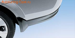 Брызговики задние Opel Astra H Хэтчбек
