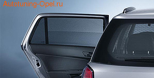 Защитные шторки на боковые окна Opel Astra H Хэтчбек