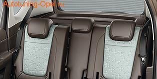 Подголовник задний Opel Meriva B кожаный черный