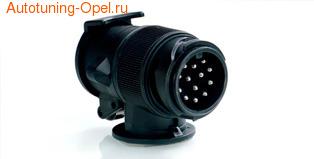 Адаптер для тягово-сцепного устройства с 7-13-контактными разъемами