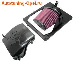 Система холодного впуска Opel Astra H с двигателями 1,4i / 1.6i / 1.8i / 2.0i и Opel Zafira B 1.6i / 1.8i / 2.0i