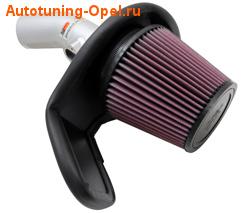 Система холодного впуска Opel Astra J с двигателями 1.4 Turbo