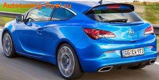 Спойлер на крышу Opel Astra J GTC OPC стандартный
