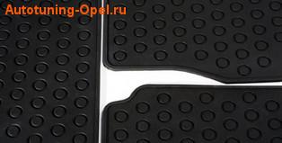 Коврики в салон Opel Zafira B резиновые задние