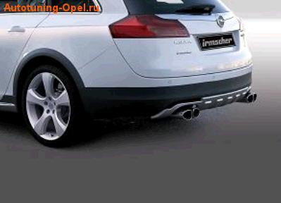 Накладка на бампер задний Opel Insignia Sports Tourer