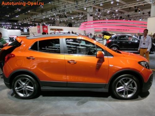 Пороги Opel Mokka пакет OPC Line I