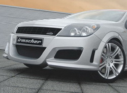 Бампер передний Opel Astra H Хэтчбек, Универсал для автомобилей без противотуманных фар