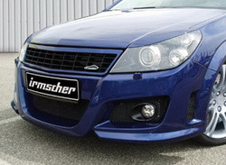 Бампер передний Opel Astra H GTC для автомобилей с противотуманными фарами