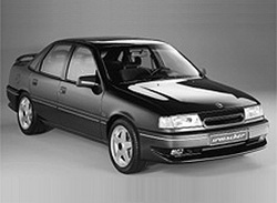 Накладка на бампер задний Opel Vectra A