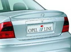 Накладка на бампер задний Opel Vectra B