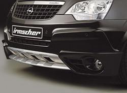 Накладка на бампер передний Opel Antara (дорестайлинг)