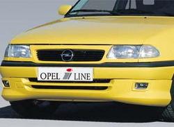 Накладка на бампер передний Opel Astra F