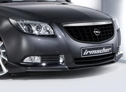 Накладка на бампер передний Opel Insignia Хэтчбек, Седан, Sports Tourer (дорестайлинг)