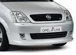 Накладка на бампер передний Opel Meriva