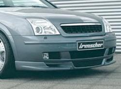 Накладка на бампер передний Opel Vectra C (дорестайлинг)