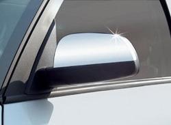 Накладки на зеркала хромированные для Opel Meriva