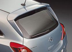 Спойлер на крышу Opel Corsa D 3-х дверная