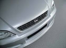 Решетка радиатора Opel Astra G в жемчужно-сером исполнении OPEL i LINE