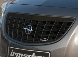 Решетка радиатора Opel Insignia Хэтчбек, Седан, Sports Tourer (дорестайлинг) черная