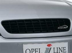 Решетка радиатора Opel Vectra C (дорестайлинг) черная