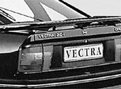 Спойлер задний Opel Vectra A