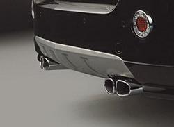 Глушитель Opel Antara на две стороны с четырьмя насадками к двигателям Z20S, Z24SED, Z32SED и Z22D1