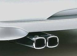Глушитель со сдвоенной насадкой для Opel Corsa B с двигателями X10XE и X12XE