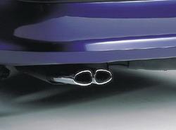 Глушитель со сдвоенной насадкой для Opel Vectra B (не 16V)