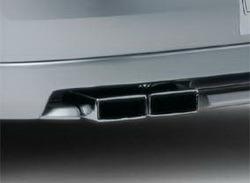 Глушитель Opel Vectra C со сдвоенной насадкой слева для Opel Vectra C дизель