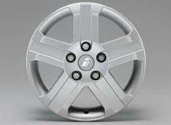 Диски литые R16 легкосплавные серебристые дизайн Nova-Design для Opel Antara