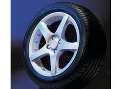 Диски литые R16 легкосплавные серебристые дизайн Opel GT Star-Design для Opel Astra H, Opel Corsa D