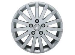Диски литые R16 легкосплавные серебристые дизайн Signa-Design для Opel Astra H, Opel Corsa D