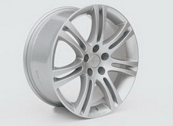 Диски литые R16 легкосплавные серебристые дизайн Stila-Design для Opel Astra H, Opel Meriva B, Opel Vectra C, Opel Zafira B