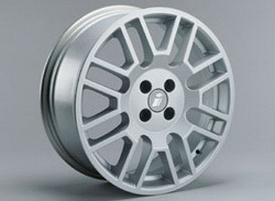 Диски литые R17 легкосплавные серебристые дизайн Delta-Design для Opel Astra H, Opel Corsa D