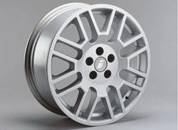 Диски литые R17 легкосплавные серебристые дизайн Delta-Design для Opel Astra H, Opel Vectra C, Opel Zafira B